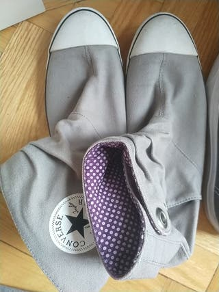 Converse All Star bota gris