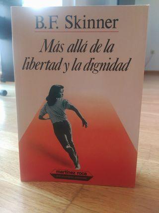 Libro: Más allá de la libertad y de la dignidad