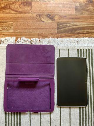 "Tablet LG V700 con funda protectora 10.1"" pantalla"
