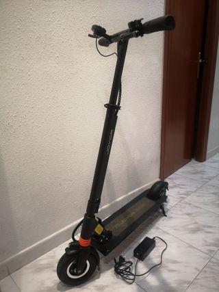 cambio patinete electrico con cargador joyor f1.