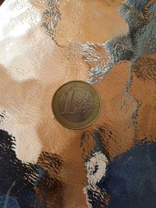 MONEDA DE UN EURO CON FALLO 2006