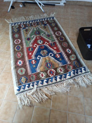 alfombra lana 100%