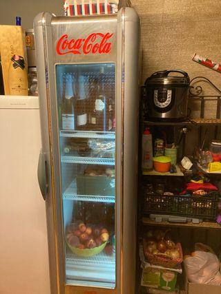 Nevera de Coca-Cola vintage