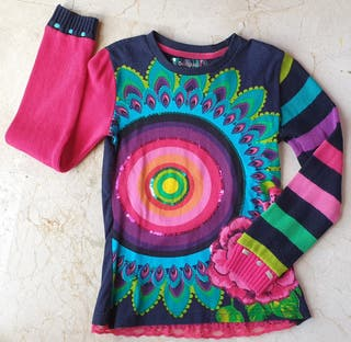 Camiseta/jersey Desigual niña 9/10 años