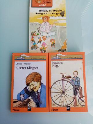"""Lote libros """"A partir de 9 años"""""""