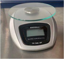 Peso de cocina digital Soehnle