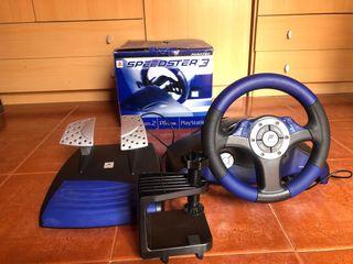 Volante y pedales Speedster 3