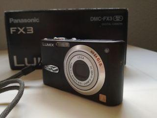 Cámara de fotos digital compacta Panasonic