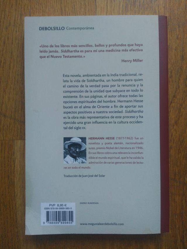 Libro: Siddhartha- Hermann Hesse