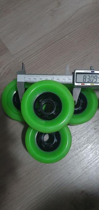 ruedas grandes para longboard (83x52mm)
