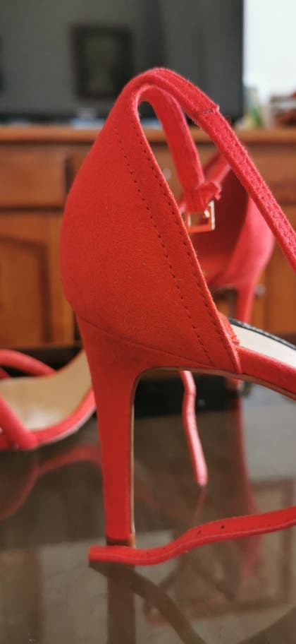 Sandalias rojas talla 40