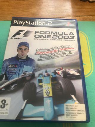 Fórmula 1 2003 y 2004