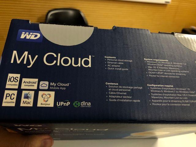NAS WD My Cloud Mirror