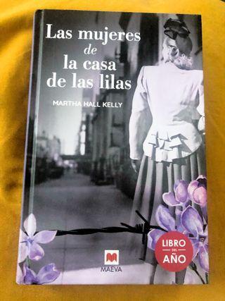 """Libro """" Las mujeres de la casa de las lilas """""""