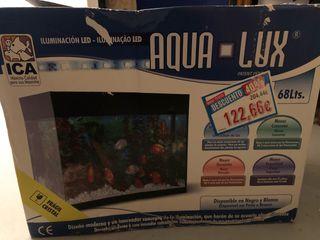 Kit Acuario Aqua-Lux 68 litros.