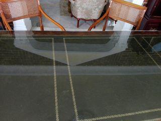 Mesa Despacho con 2 Butacas y sillon giratorio