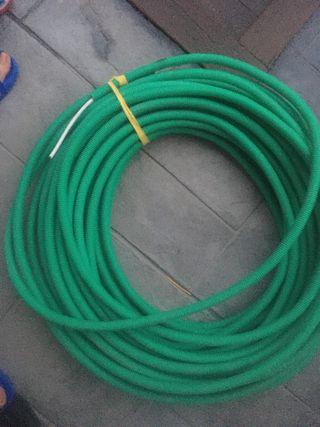 Cable antena coaxial entubado 25mts