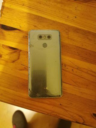 LG G6 pantalla completa rota y trasera 32GB
