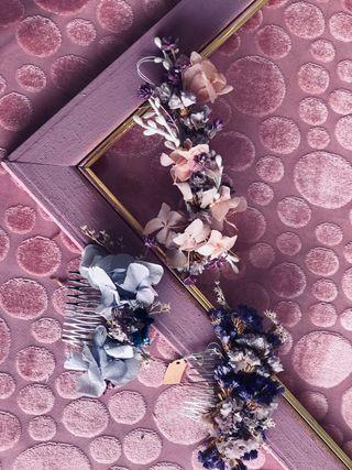 Tocados, completamentos, comunion y boda