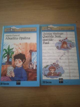 Libros Barco de Vapor color Azul