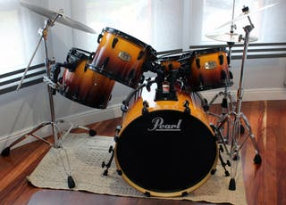 Kit batería Pearl ELX Export Series Amber Fade