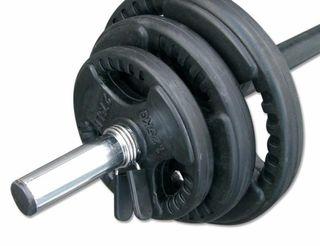 discos y pesas para barra de musculacion