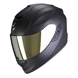 CASCO SCORPION EXO R1 AIR CARBONO MATE VARIAS TALL