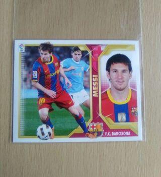 Messi cromo 11-12 fútbol