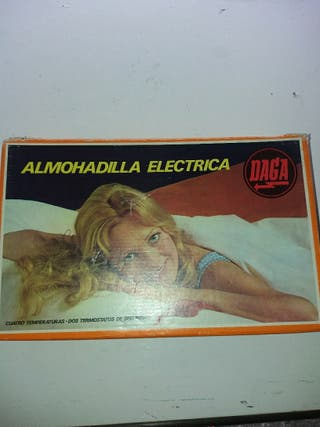 ALMOHADILLA ELÉCTRICA