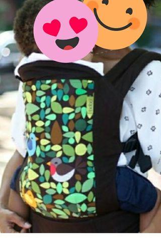 mochila portabebé marca boba