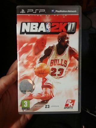 juego psp NBA 2011