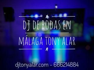 Dj Bodas Málaga Tony Alar 2021