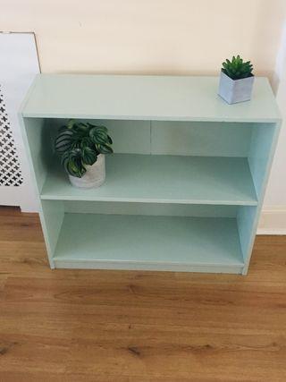 Mint Green Bookcase