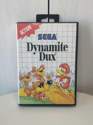 juego dynamite dux de sega mega Drive completo
