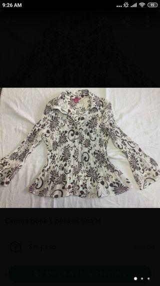 preciosa camisa mujer