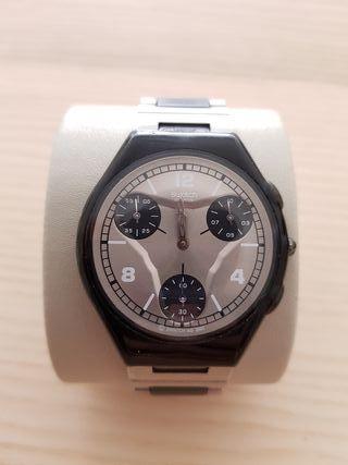 Reloj Swatch digital cuarzo acero inoxidable