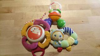 Juguetes sonajeros bebé Chicco