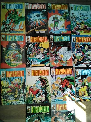 Lote 17 Comics - Flash Gordon - Vértice
