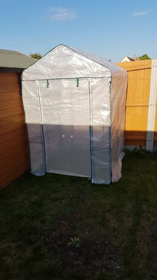 plastic cover green house