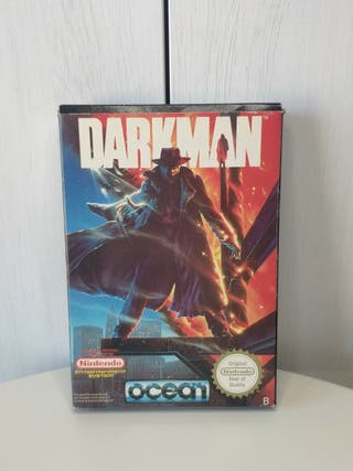 juego darkman de consola Nintendo NES completa