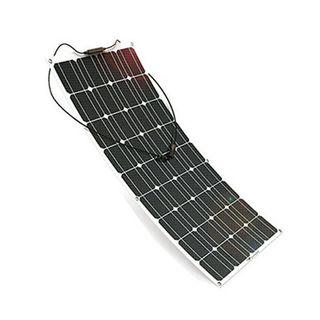 Panel solar flexible 100W 12V monocristalino