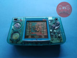 Neo Geo Pocket Color Consola Crystal Blue SNK B