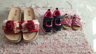 zapatos niña y chica