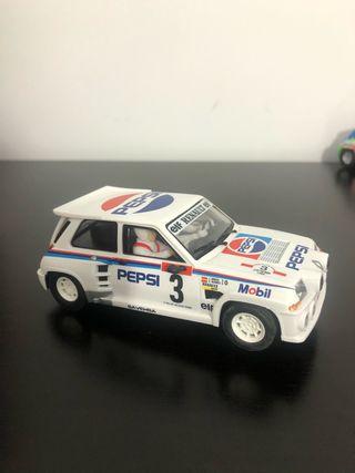 Renaul 5 scx scalextric Pepsi