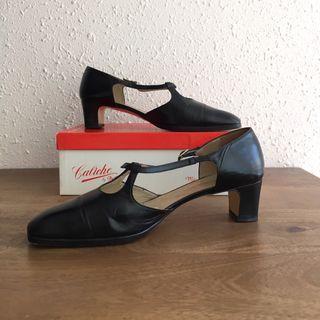 Zapatos piel negros mujer Talla 40