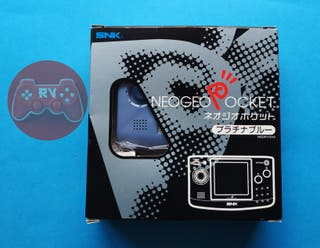 Consola Neo Geo Pocket Platinum Blue SNK