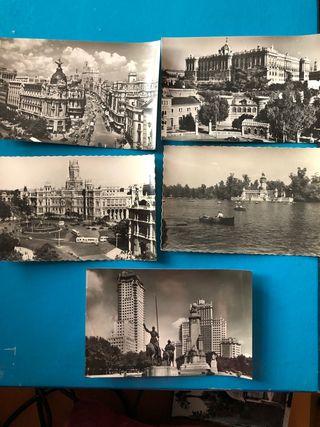 Lote postales antiguas Madrid