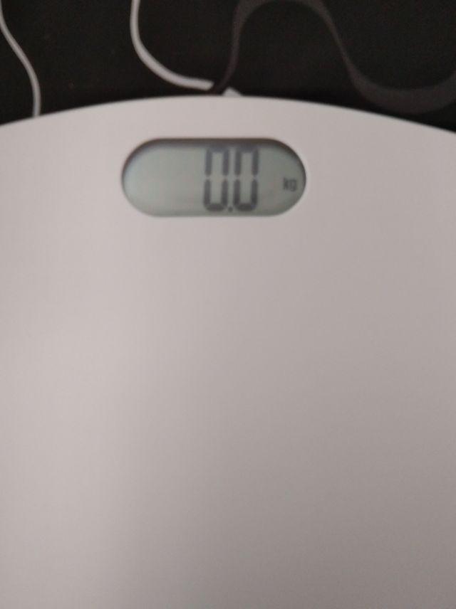 Báscula peso baño