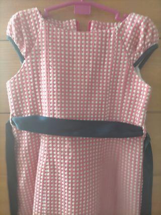vestido de niña talla 6 amplio