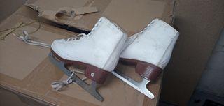 Botas patines hielo